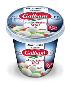 Mozzarella di latte di bufala mini 10g - pot 150g